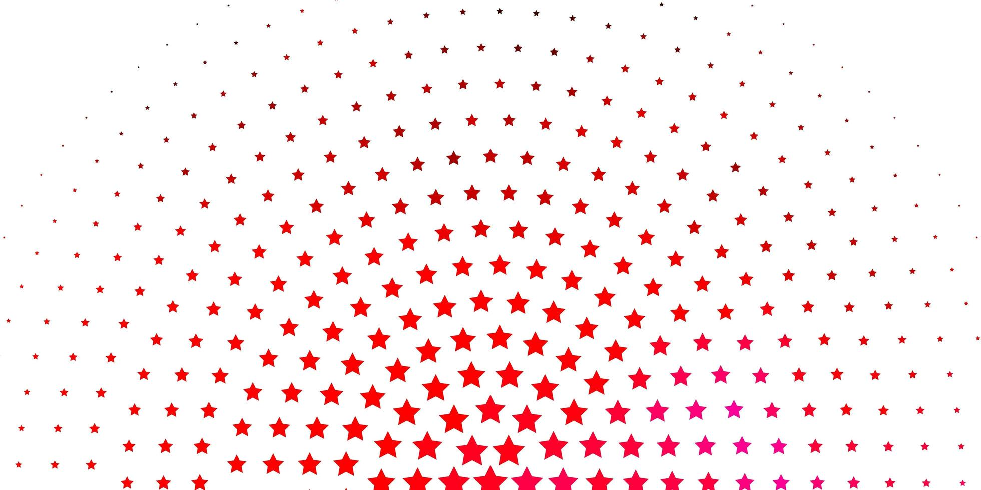Light Pink pattern with abstract stars. vector