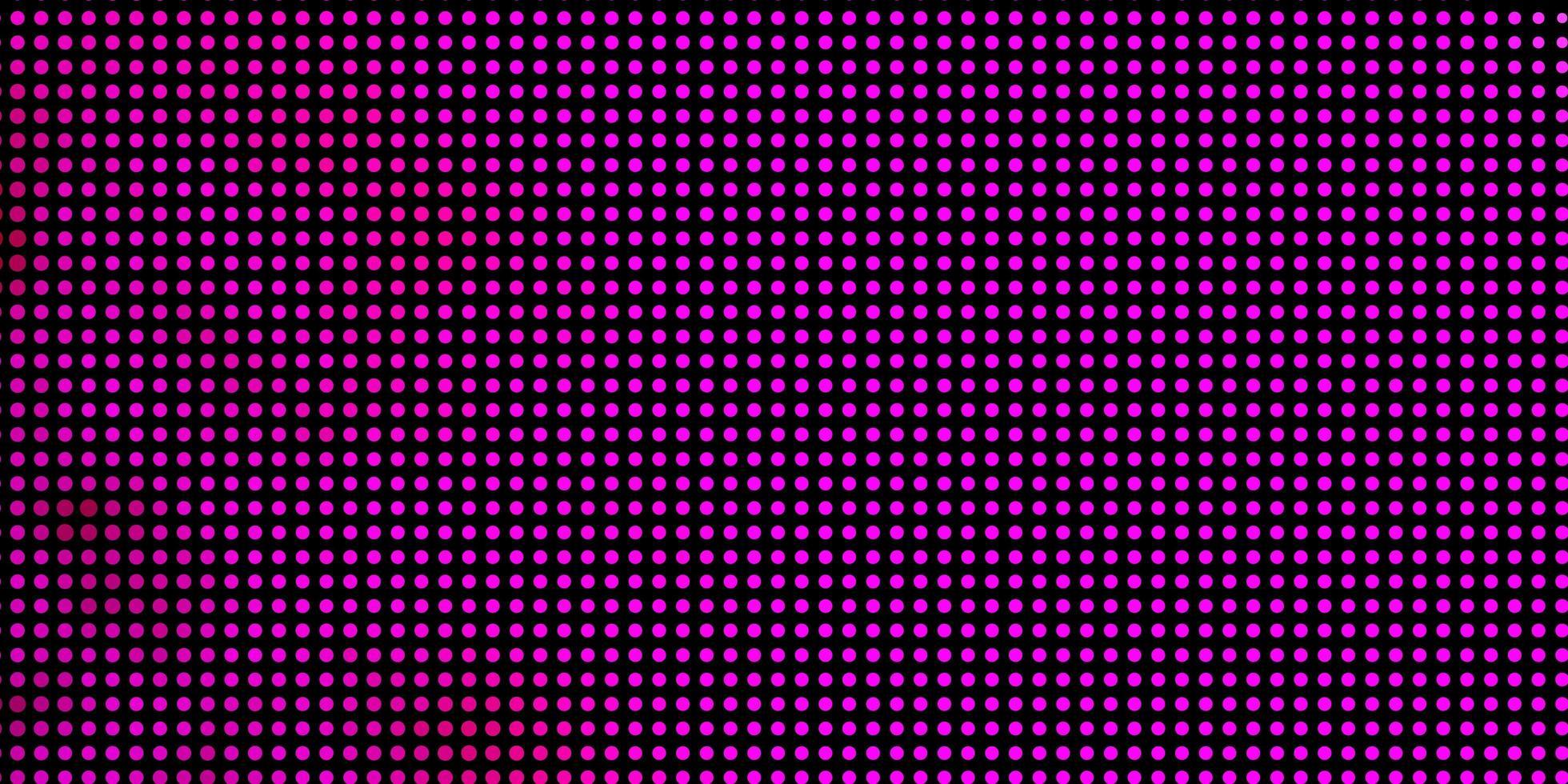patrón rosa con círculos. vector