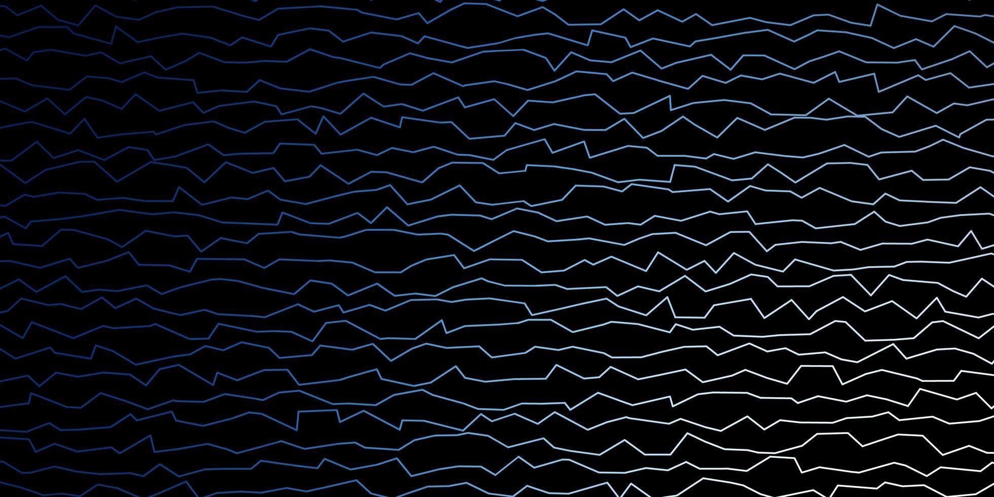Dark blue background with wry lines. vector
