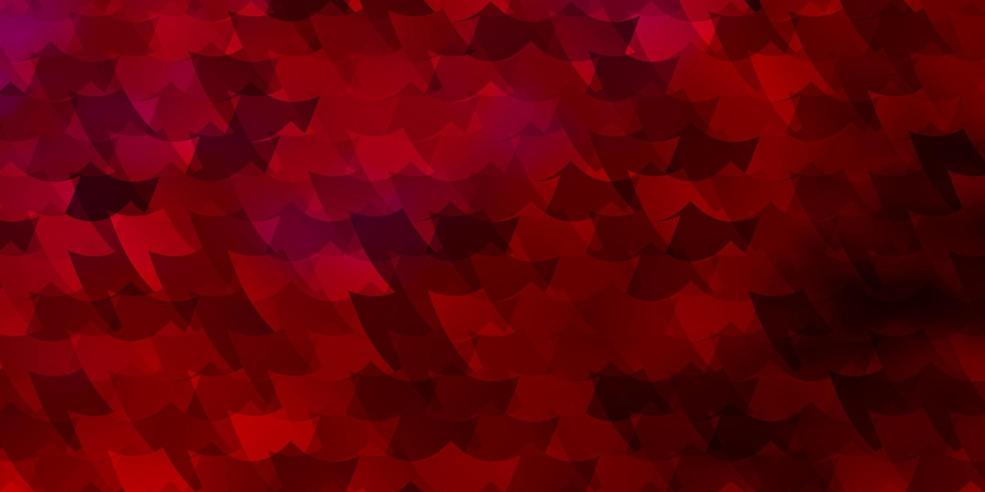 Red texture in rectangular style. vector