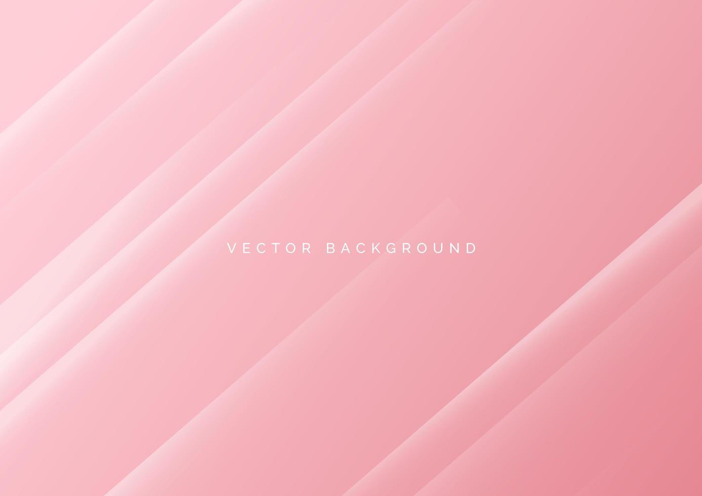 Fondo diagonal rosa claro abstracto vector