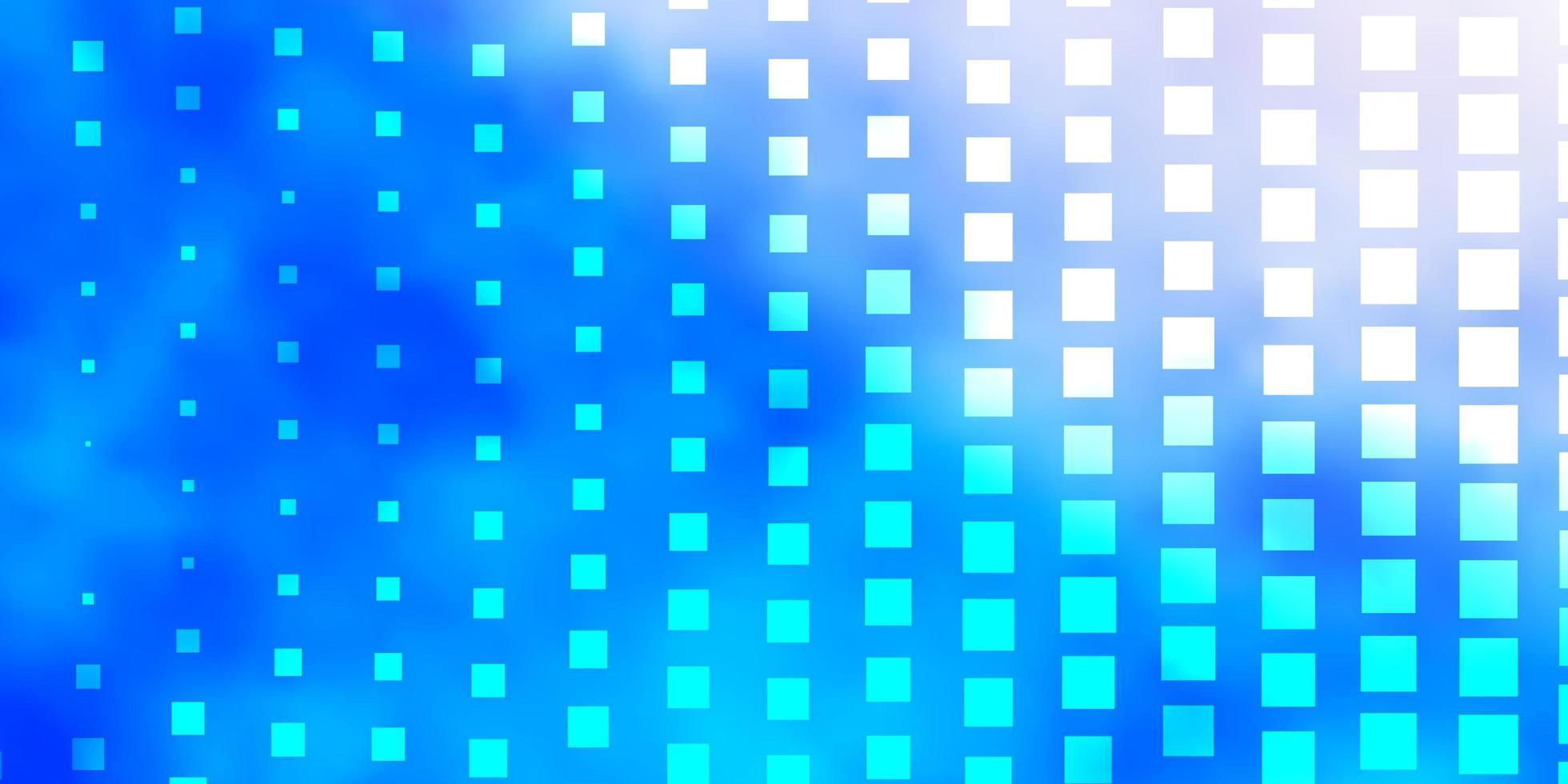 telón de fondo azul claro con rectángulos. vector
