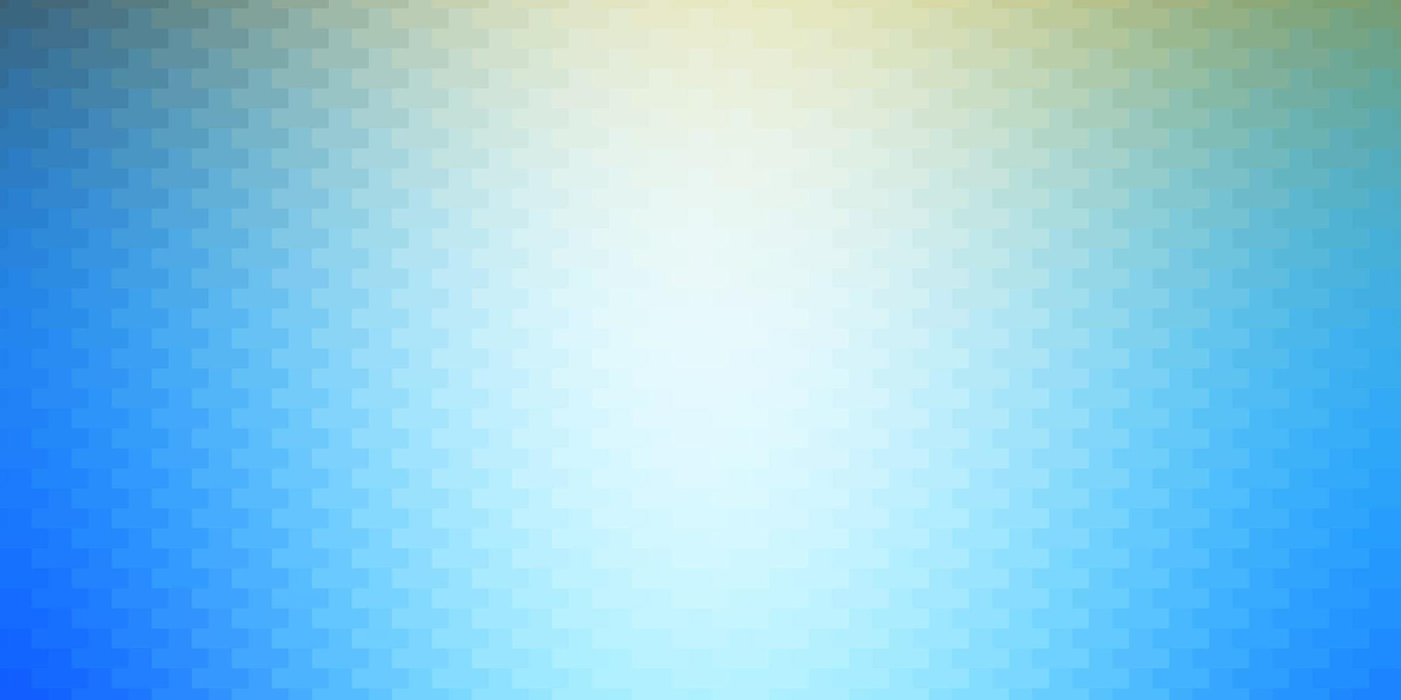 Light Blue, Yellow backdrop with rectangles. vector