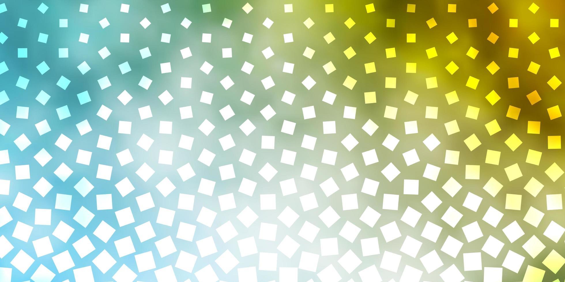 fondo azul claro, amarillo con rectángulos. vector
