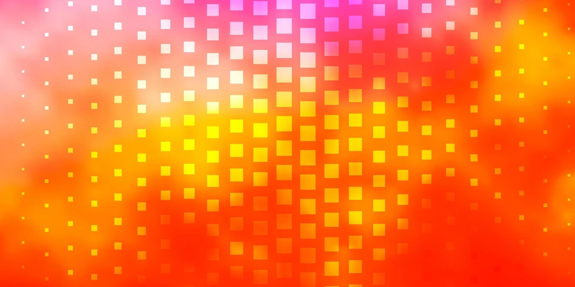 fondo amarillo con rectángulos. vector