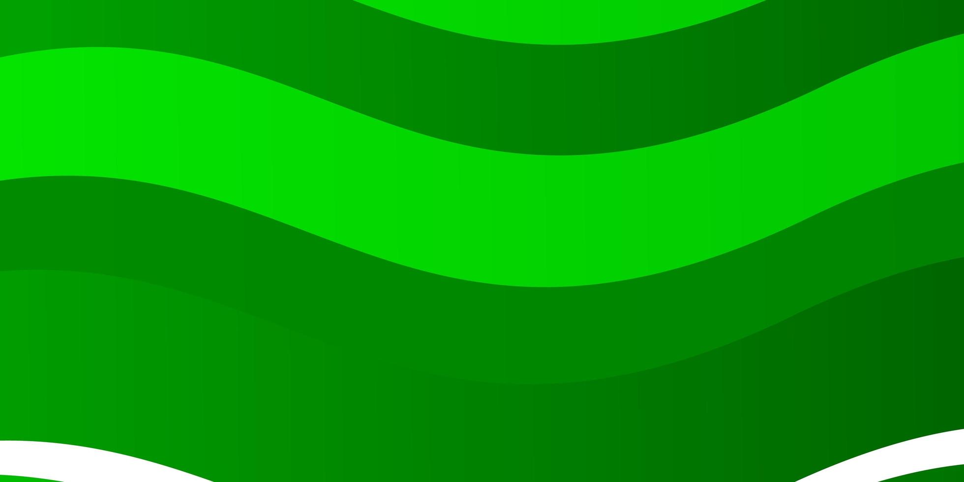 fondo verde claro con líneas torcidas. vector