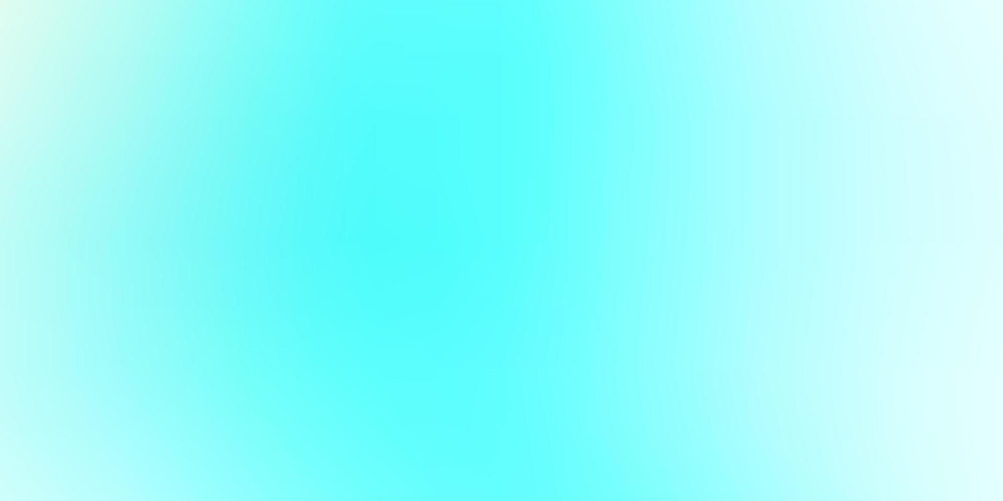 Light Green smart blurred pattern. vector