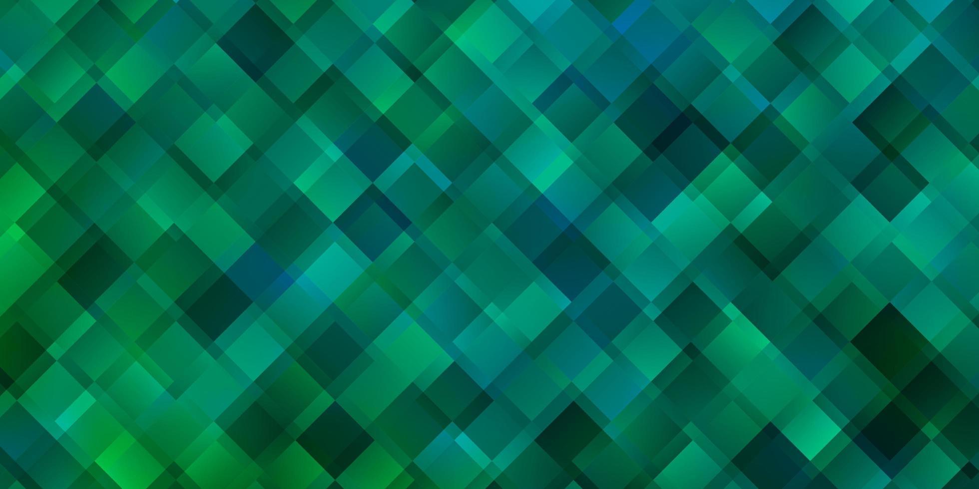 plantilla verde claro con rectángulos. vector