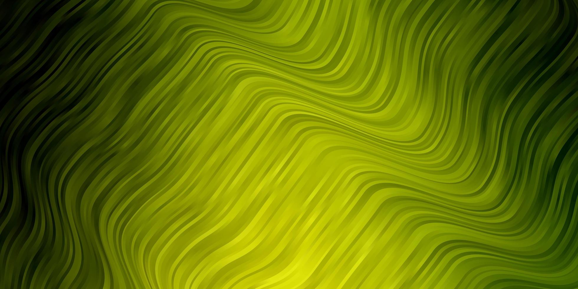 Light Green background with lines. vector