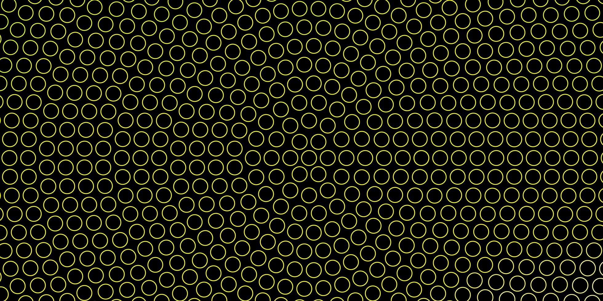 Dark Green background with circles. vector