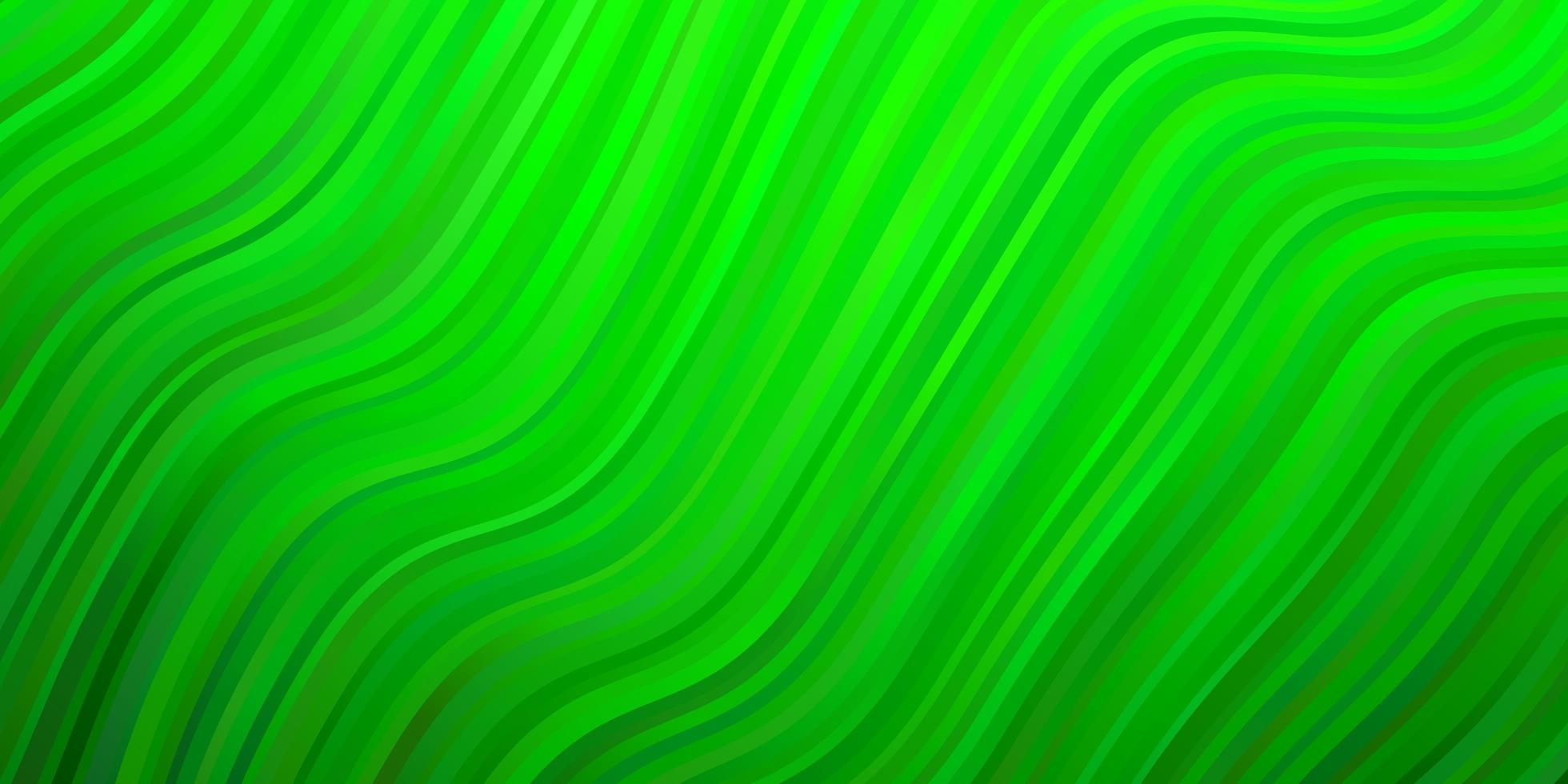 Light Green layout with curves. vector