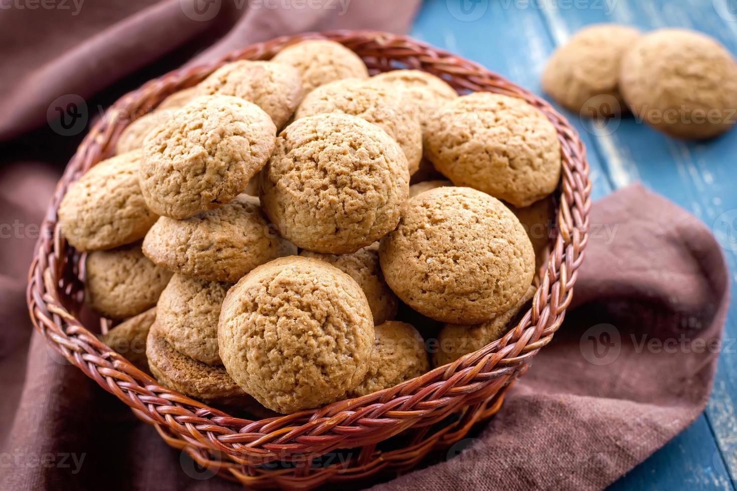 Oatmeal cookies photo