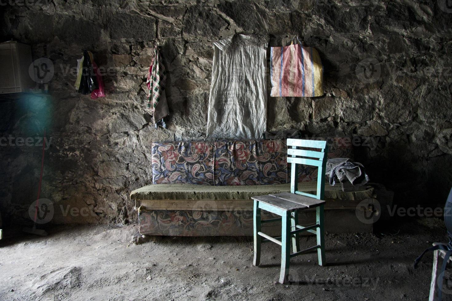 chair in old place photo