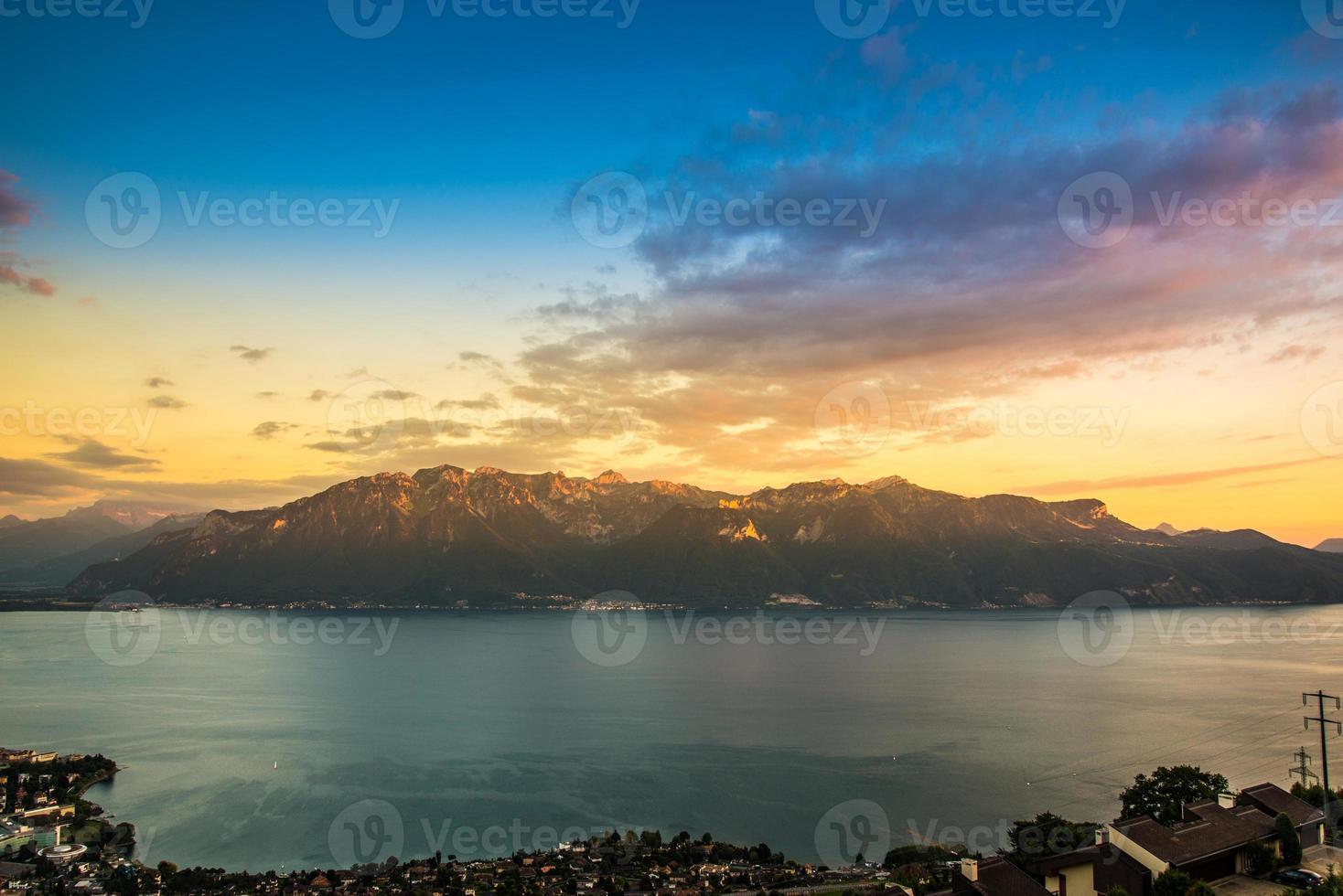 Lake Geneva by day photo