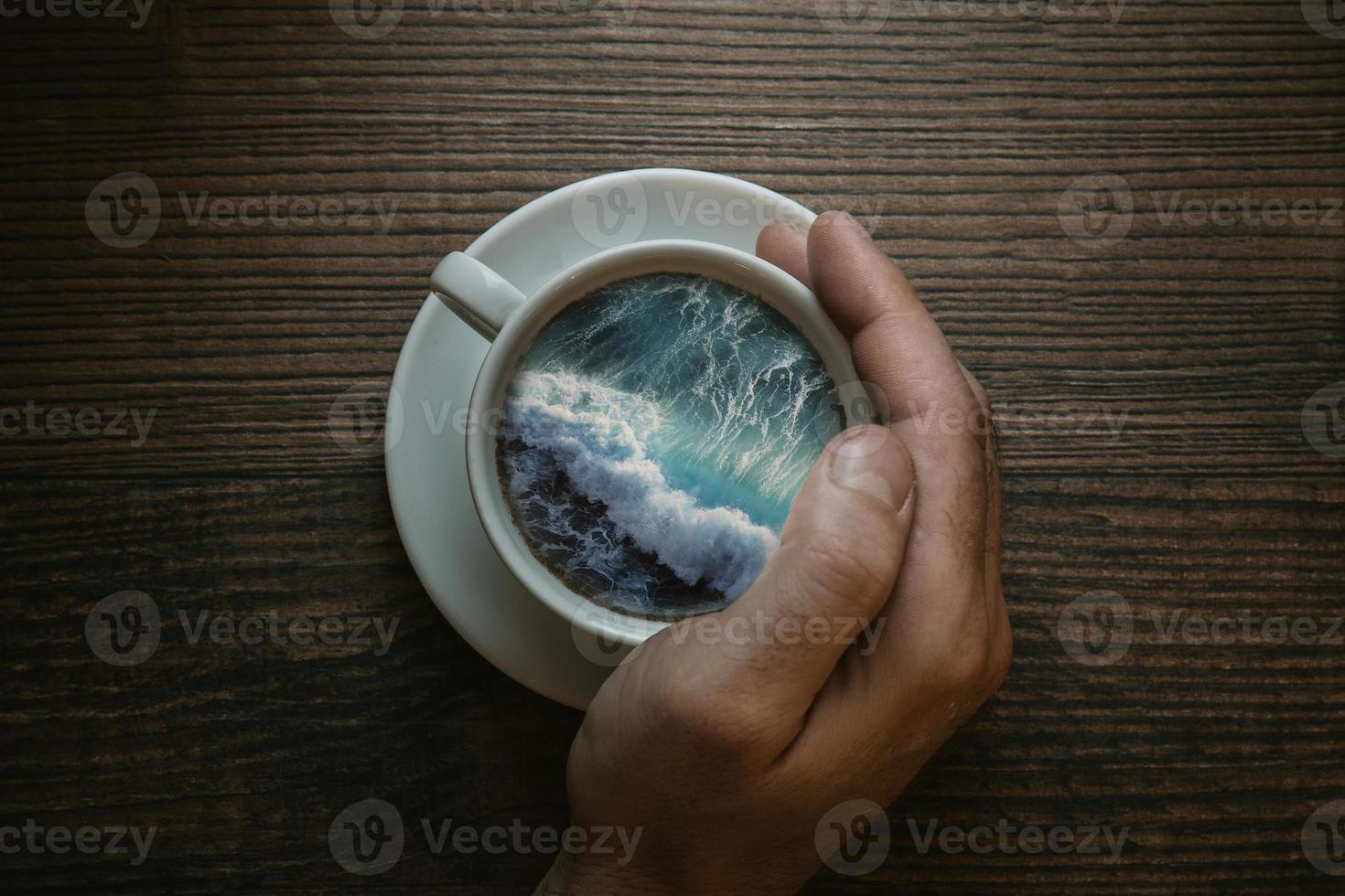 Coffee Daydreaming photo