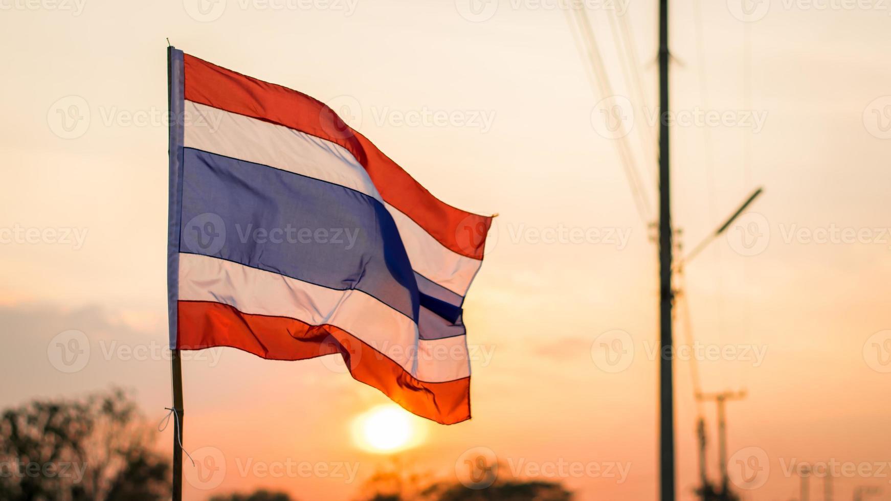bandera de tailandia foto