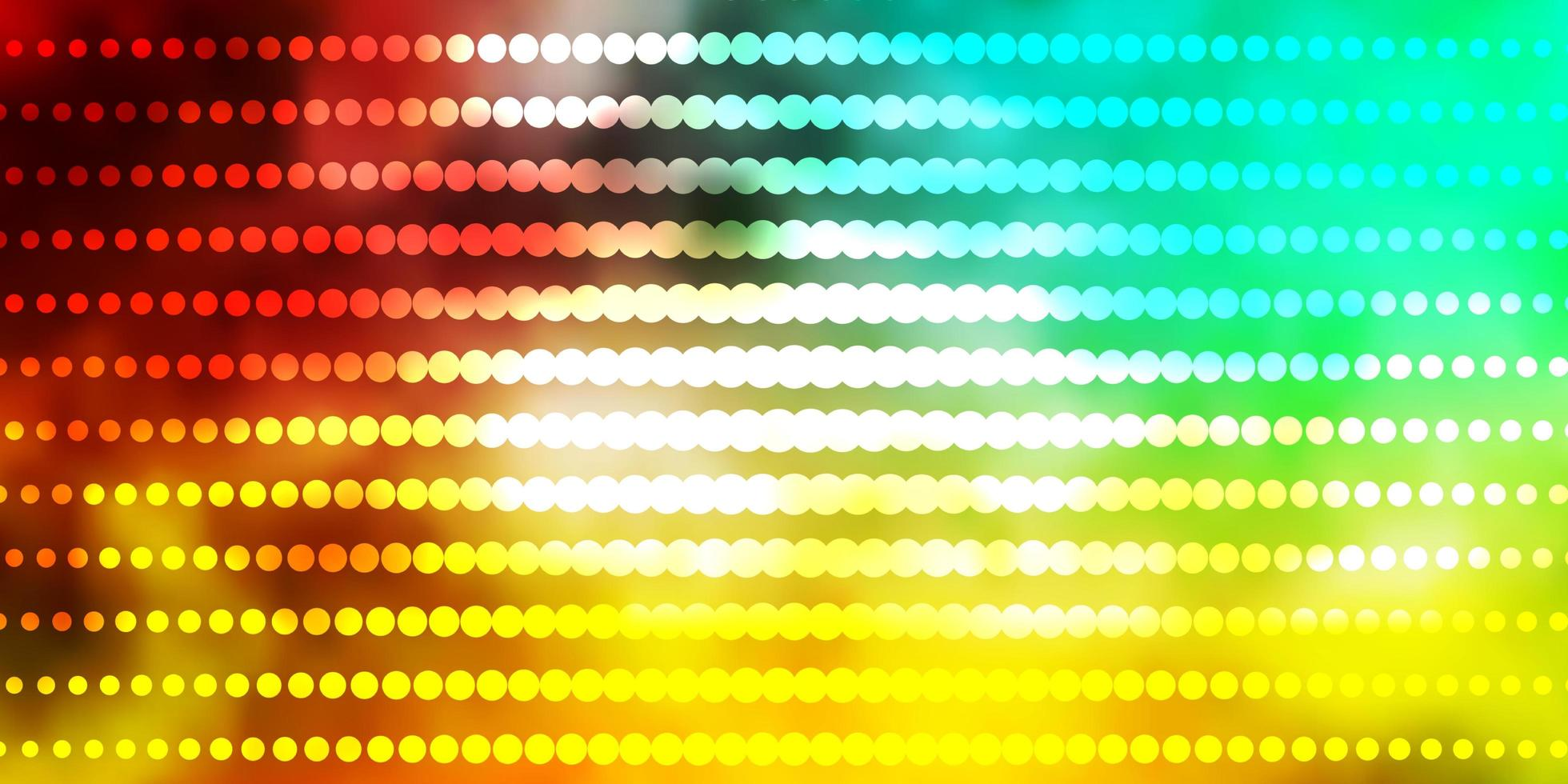 Multicolor template with circles. vector