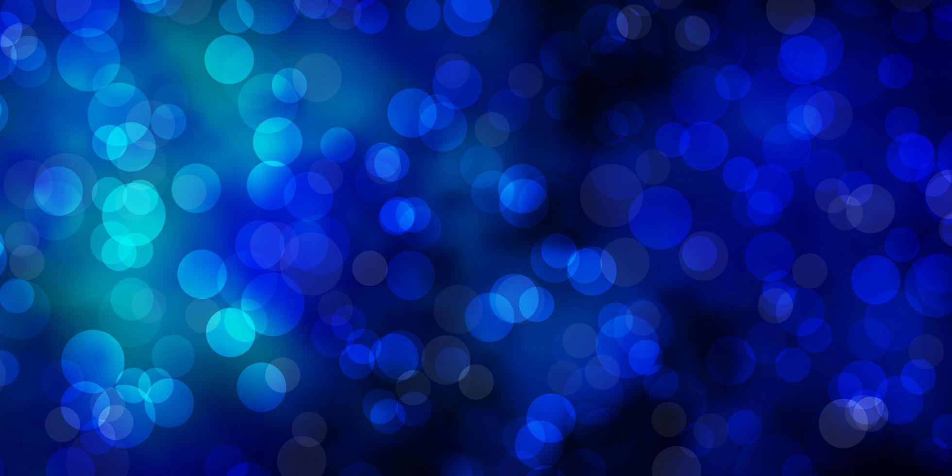 Blue background with spots. vector