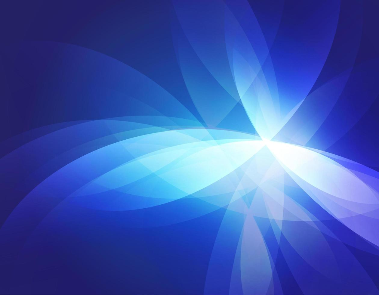 Blue glowing abstract background vector