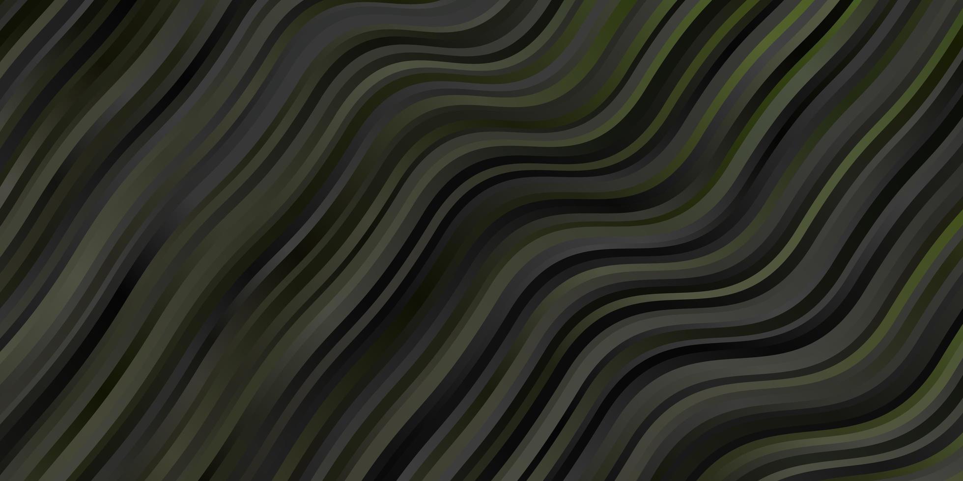 plantilla verde con líneas. vector