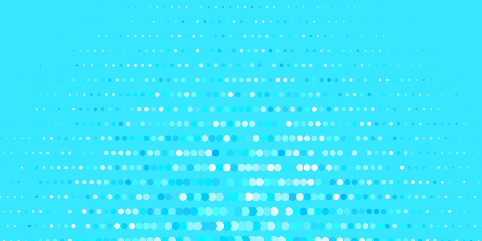 patrón azul con esferas. vector