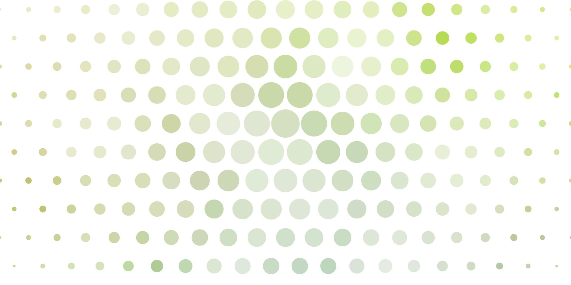 Light Green texture with disks. vector
