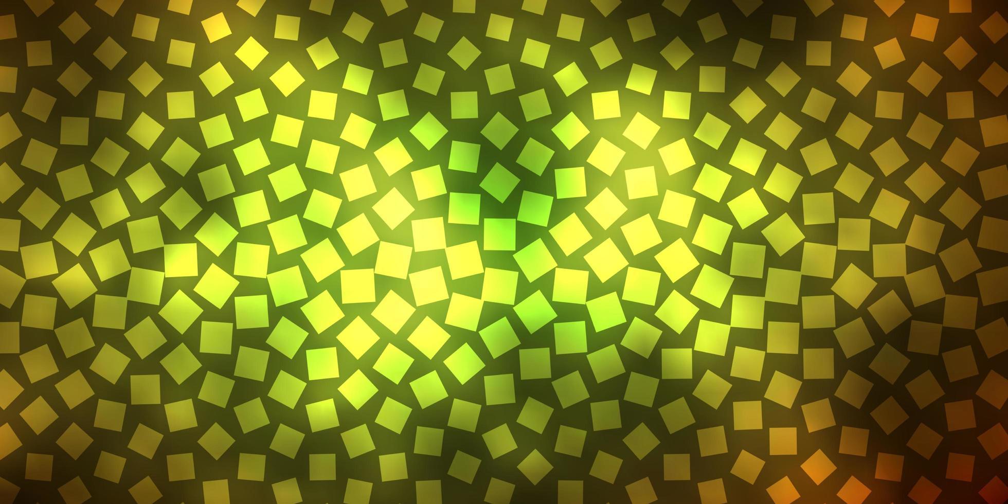 fondo verde oscuro, amarillo con rectángulos. vector