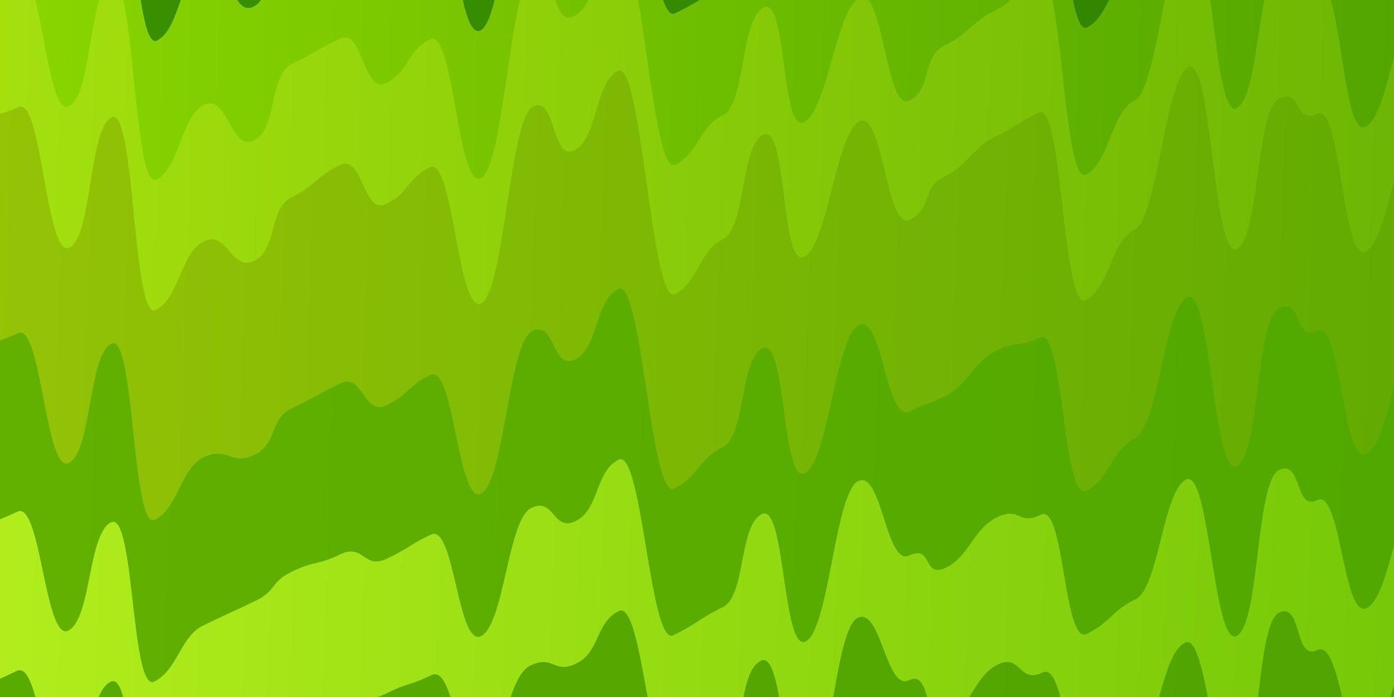 fondo verde con líneas dobladas. vector