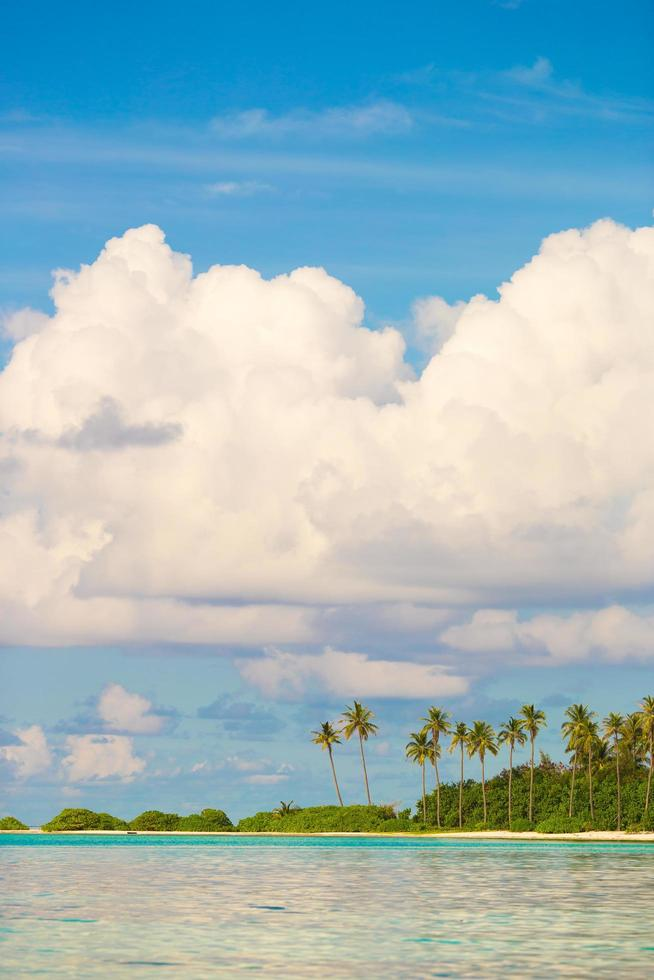 Tropical island at daytime photo