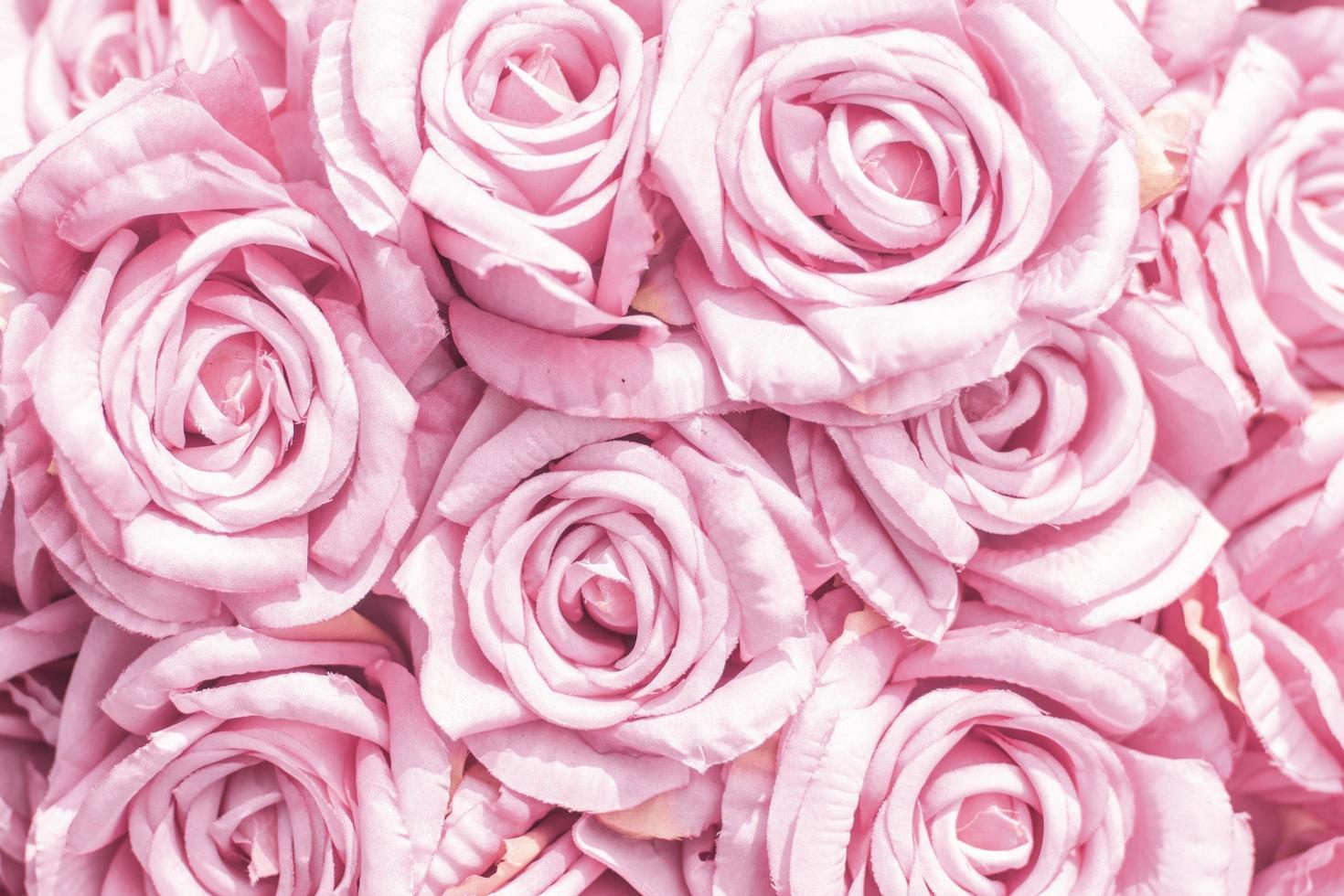 flores de tela de enfoque suave foto