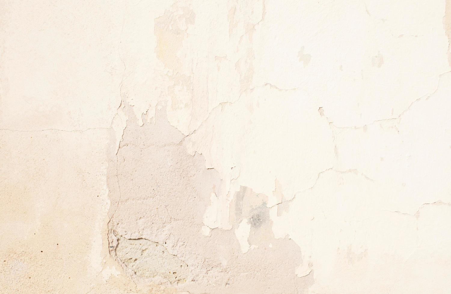 Wall with chipped paint photo