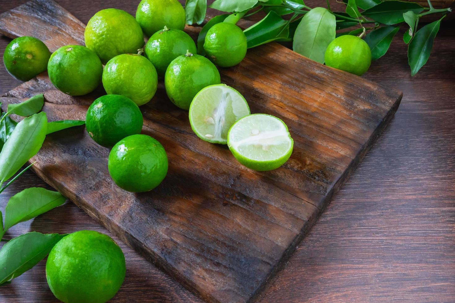 Lots of limes from the garden photo