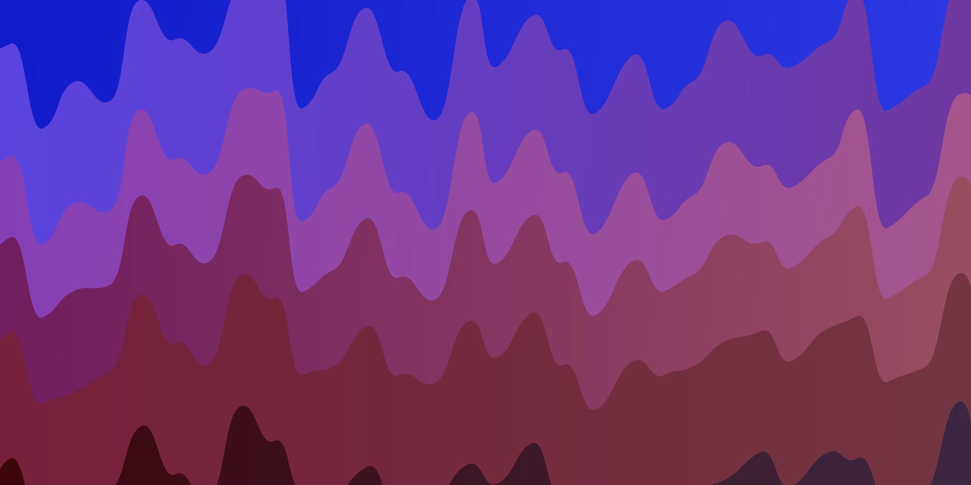 fondo azul claro, rojo con líneas torcidas. vector