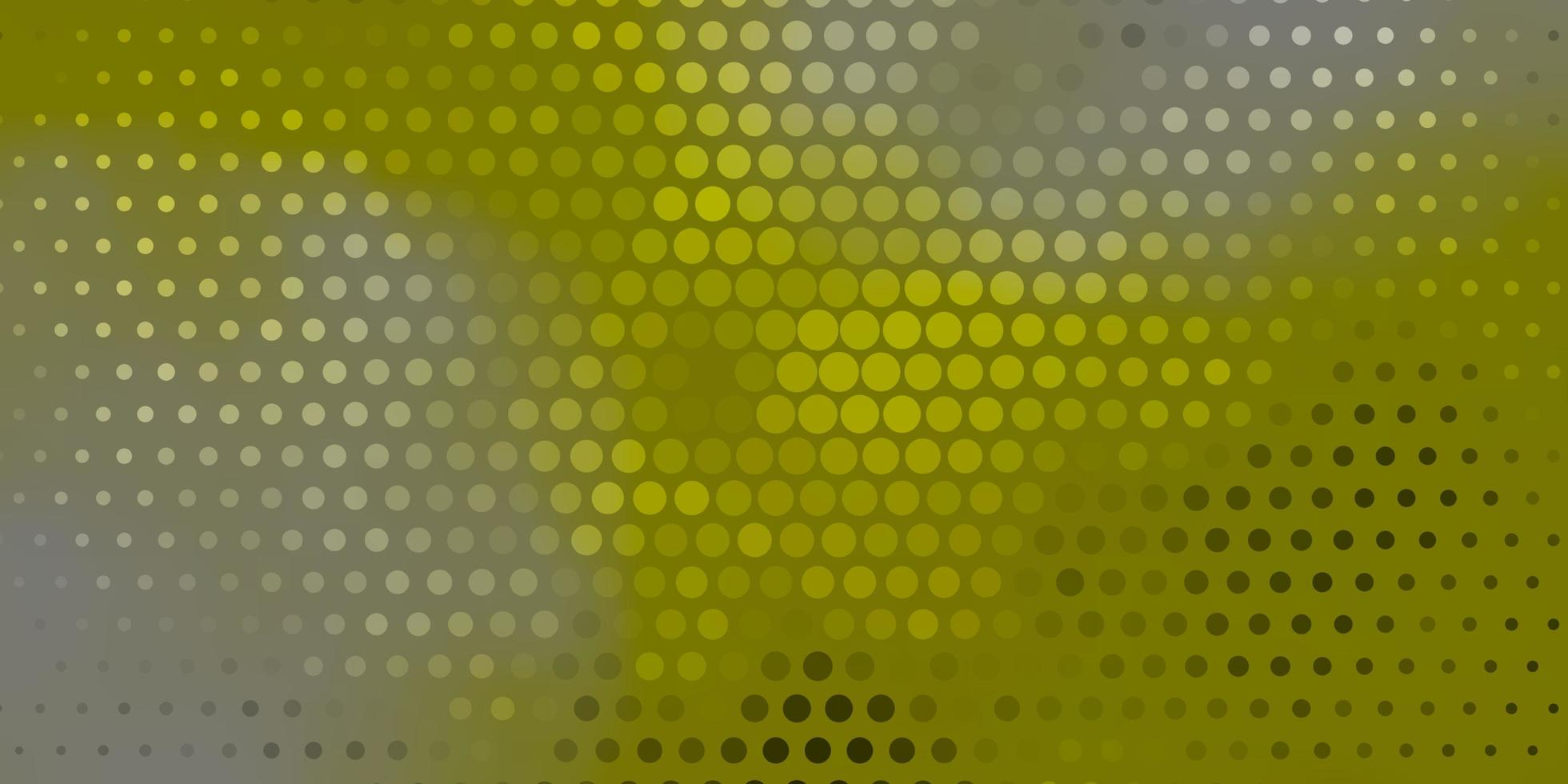Green layout with circle shapes. vector