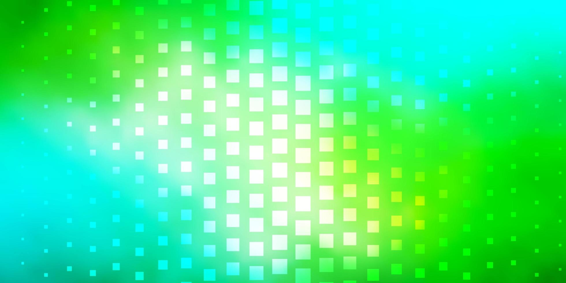 Light Blue, Yellow template in rectangles. vector