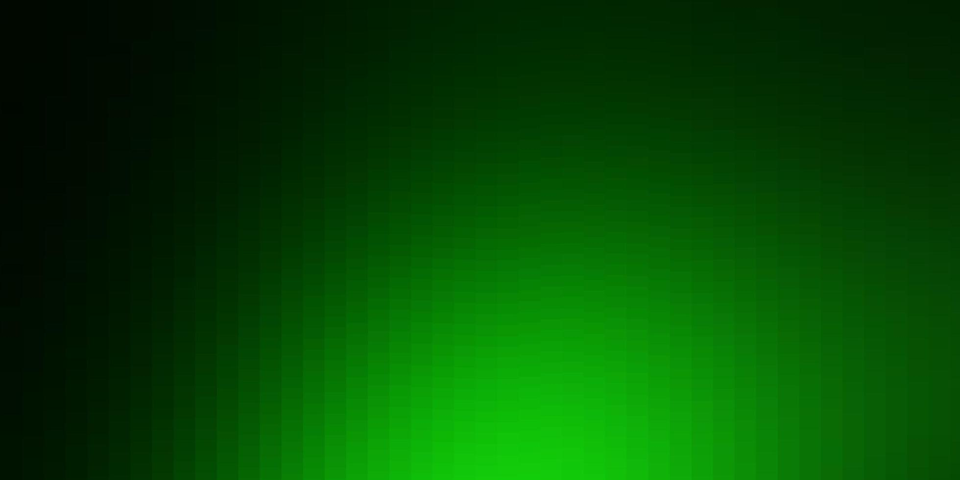 fondo verde claro en estilo poligonal. vector