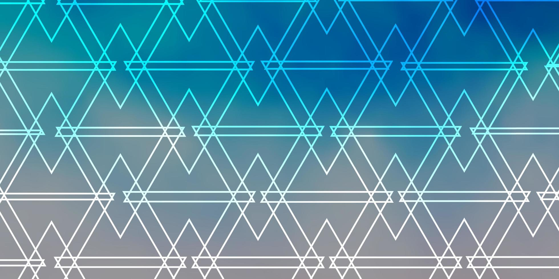 Light Blue background with polygonal style. vector