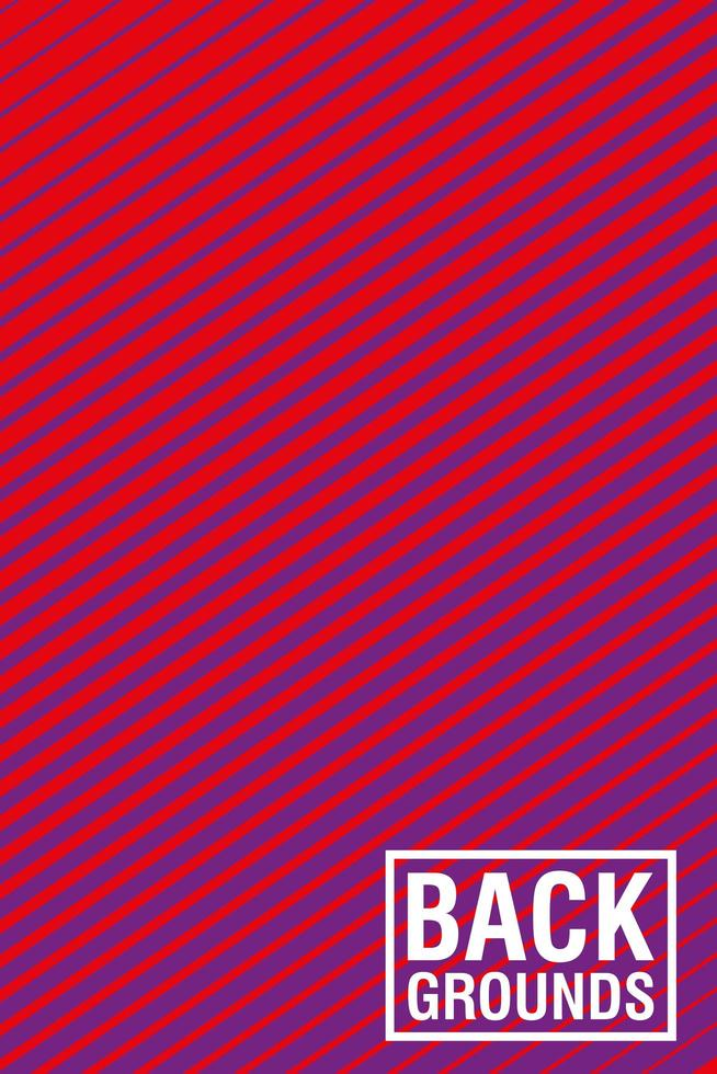 Red vibrant abstract background vector
