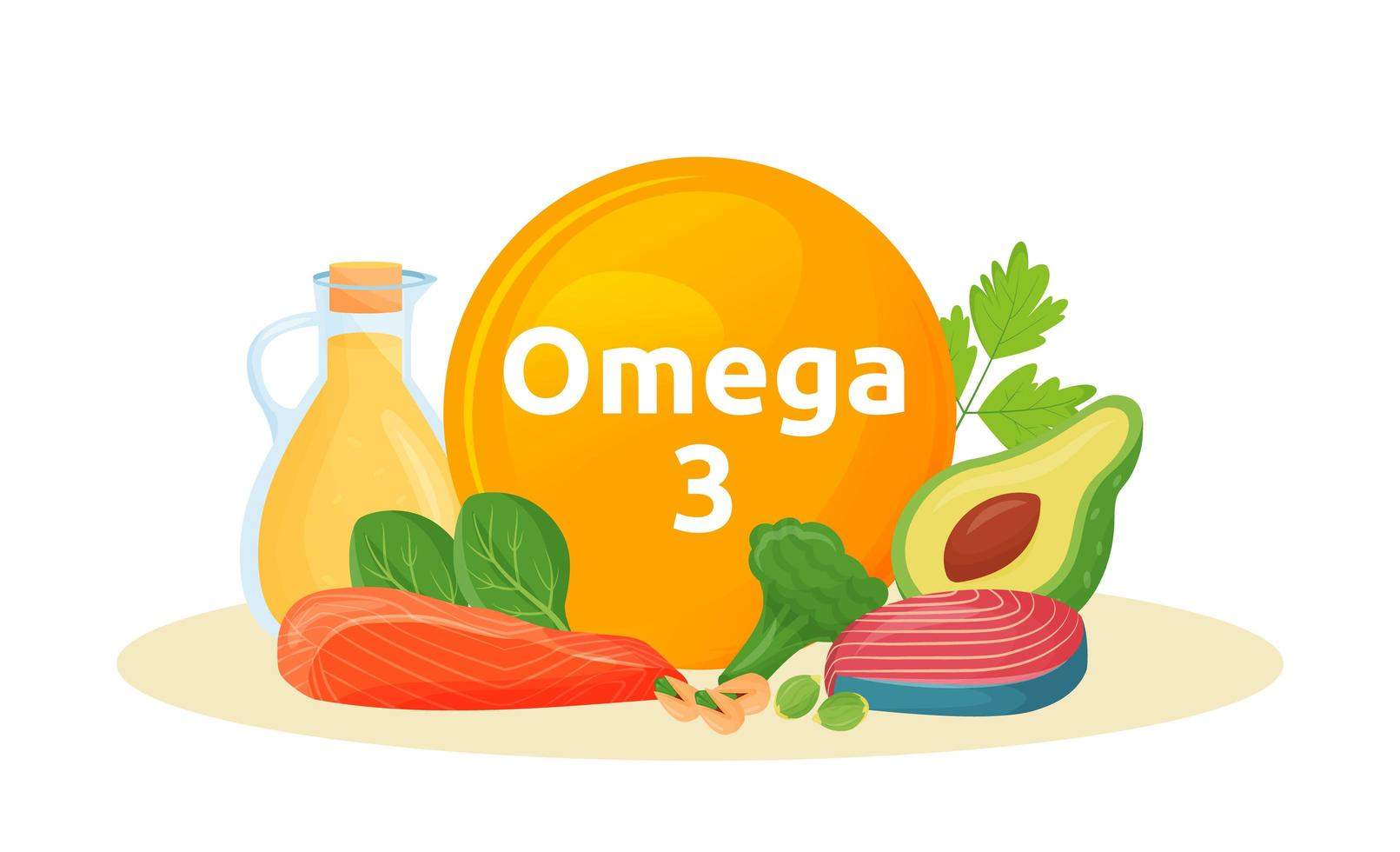 Products reach of omega 3 vector