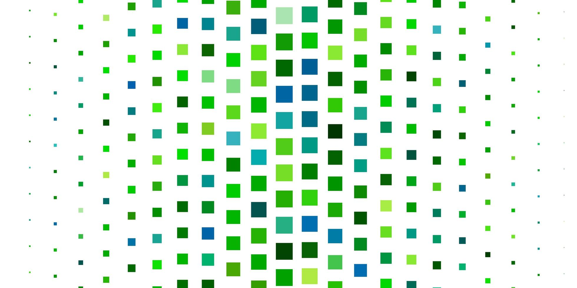 Green layout with lines, rectangles. vector
