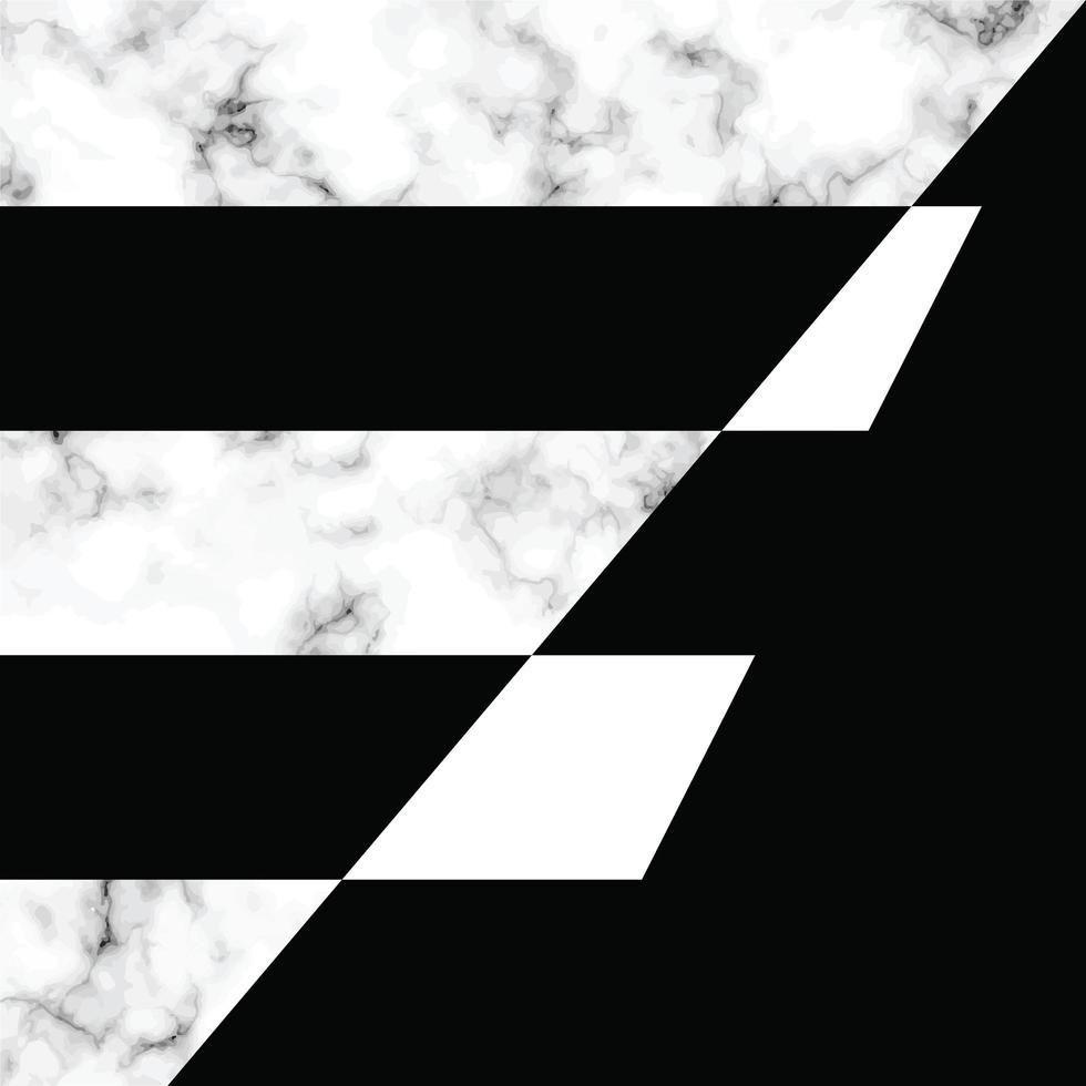 diseño de textura de mármol con formas geométricas vector