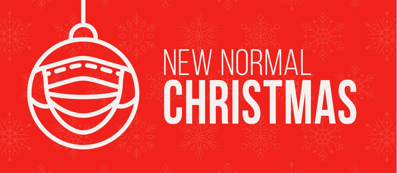 nueva tarjeta de banner de concepto de navidad normal vector