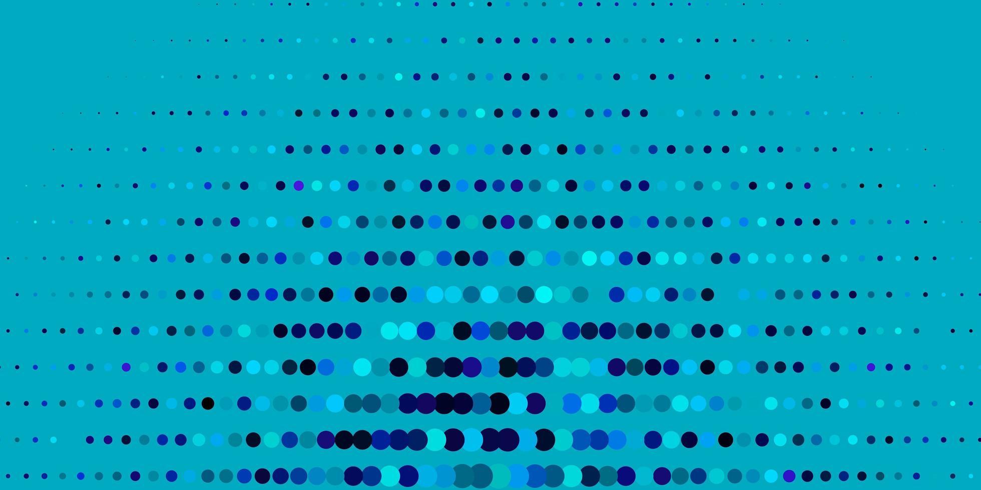 patrón de vector azul oscuro, verde con esferas.