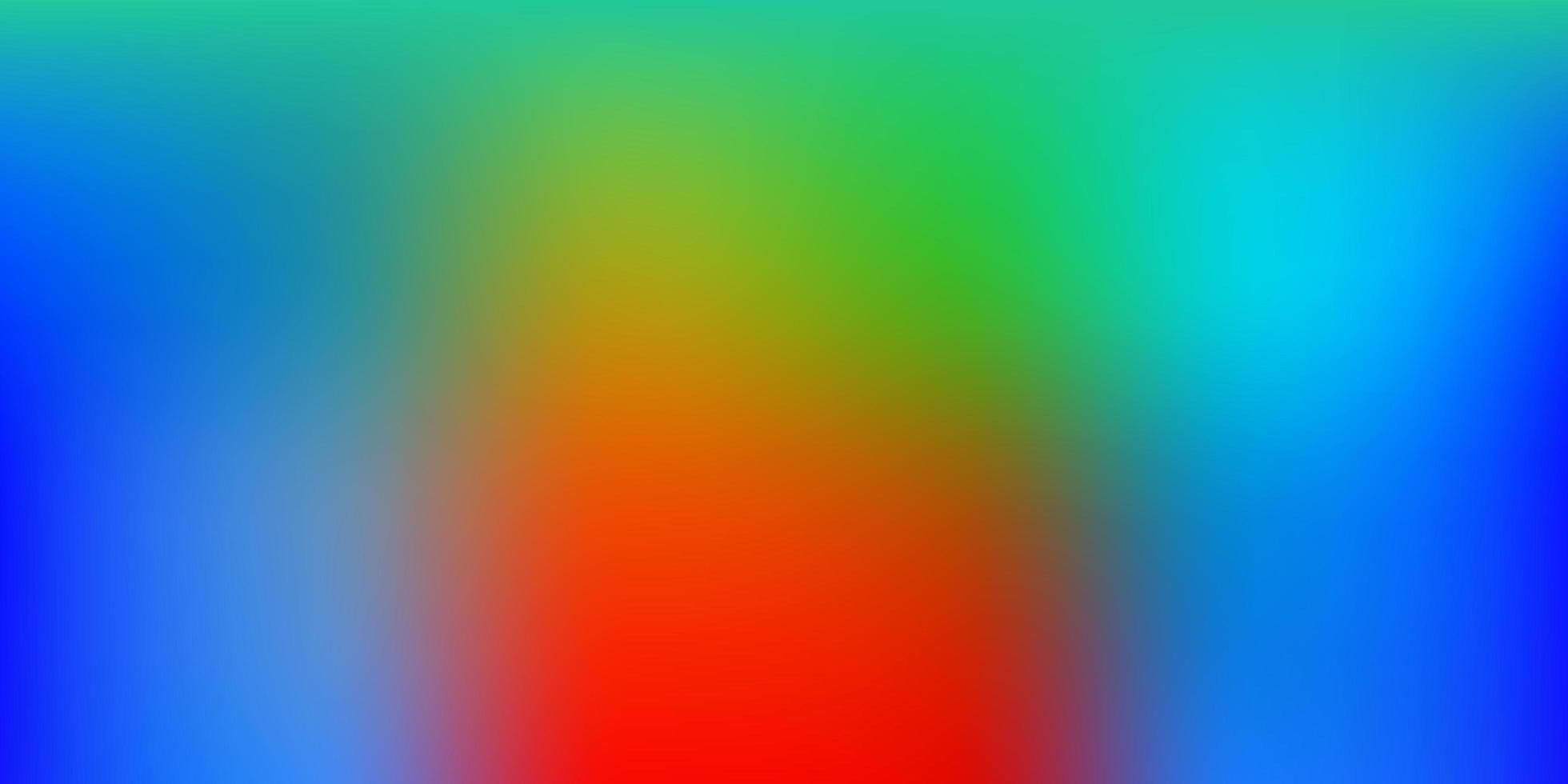 telón de fondo borroso vector multicolor claro.