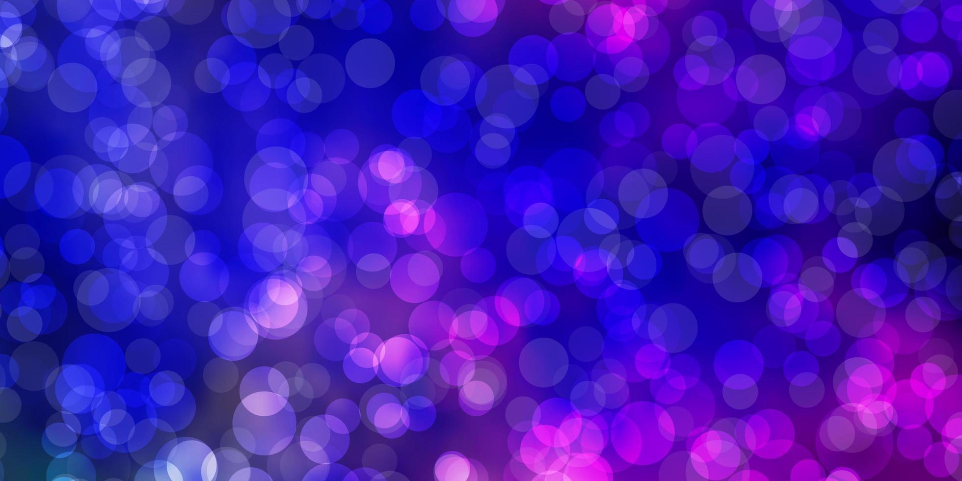 Fondo de vector de color rosa claro, azul con manchas.