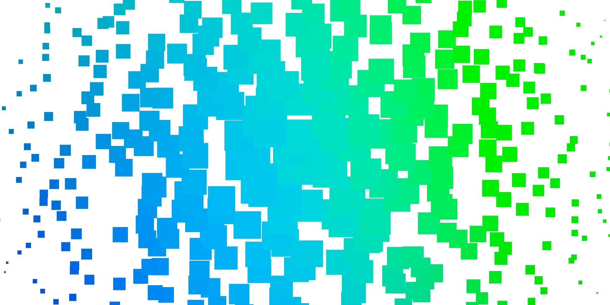 Light Blue, Green vector template with rectangles.