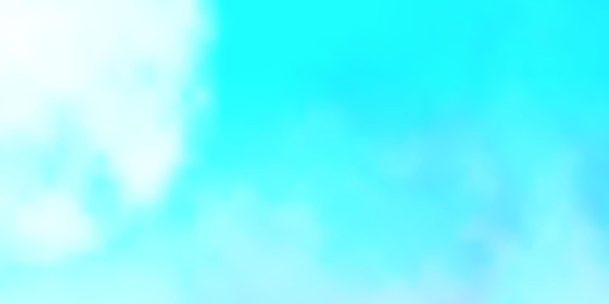textura de vector azul claro con cielo nublado.
