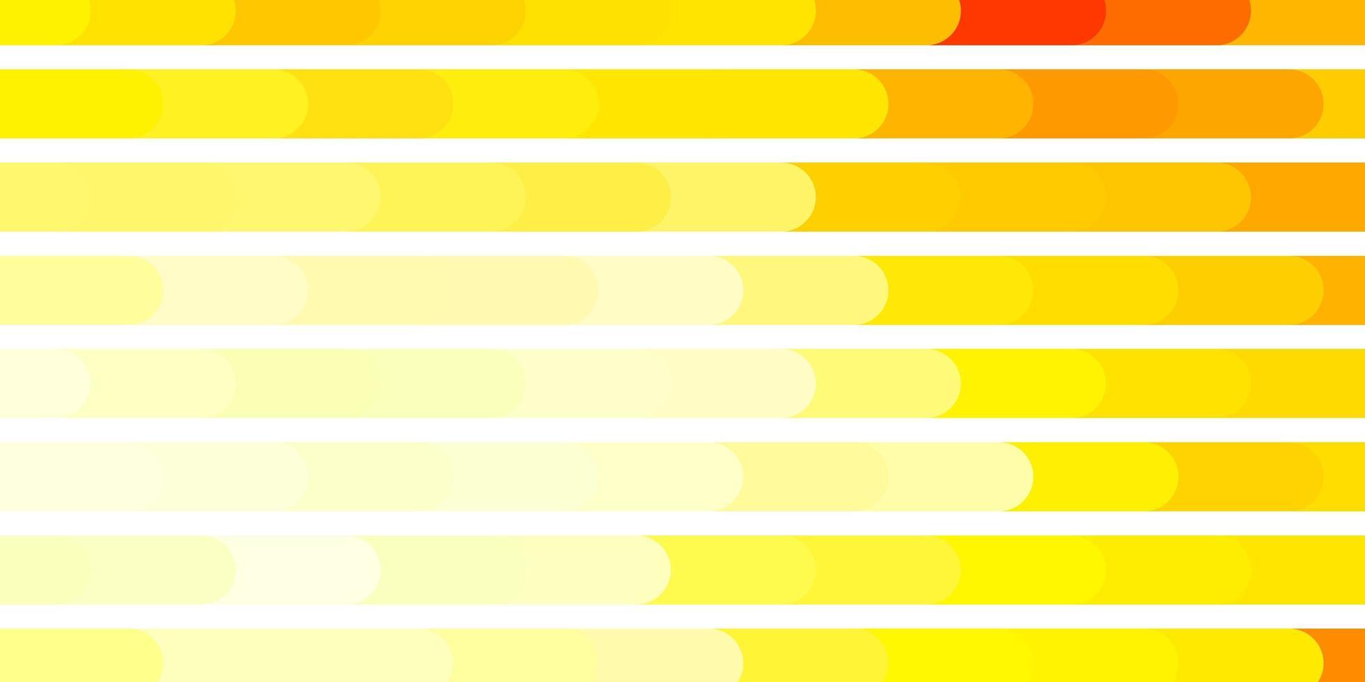 diseño de vector naranja claro con líneas.