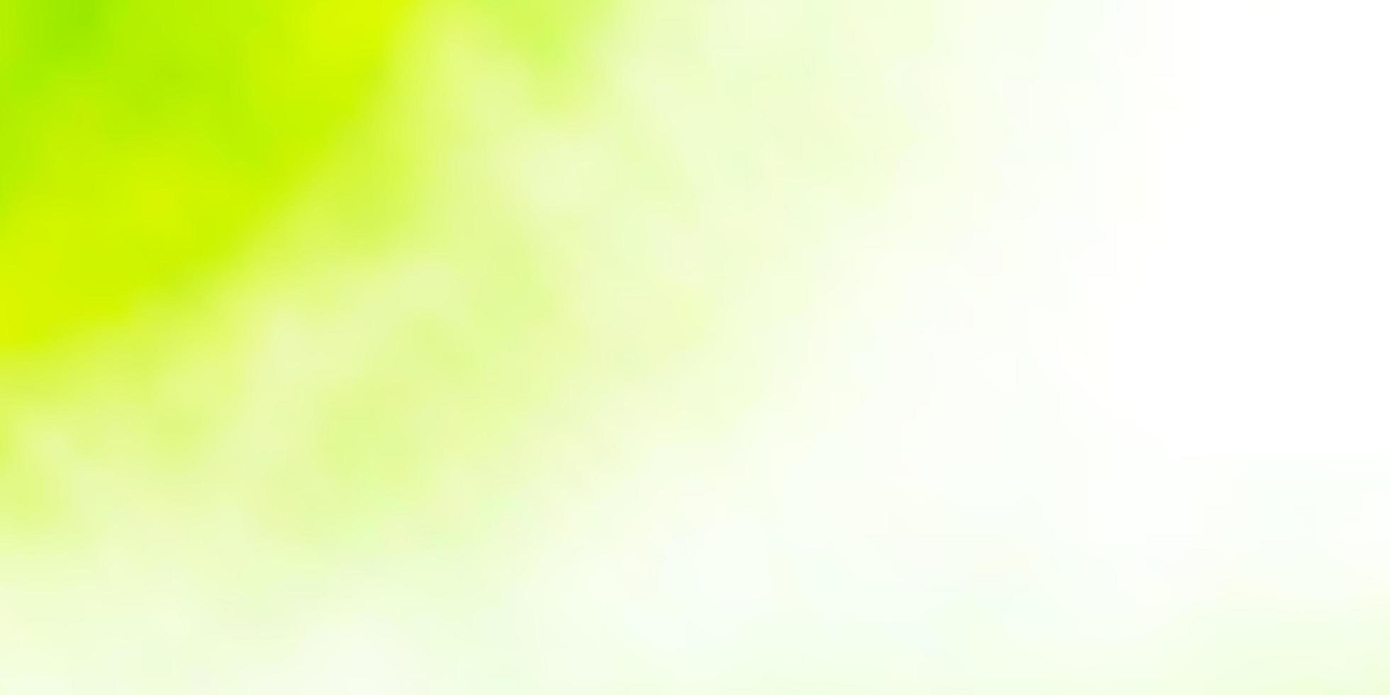 Light Green, Yellow vector texture with cloudy sky.