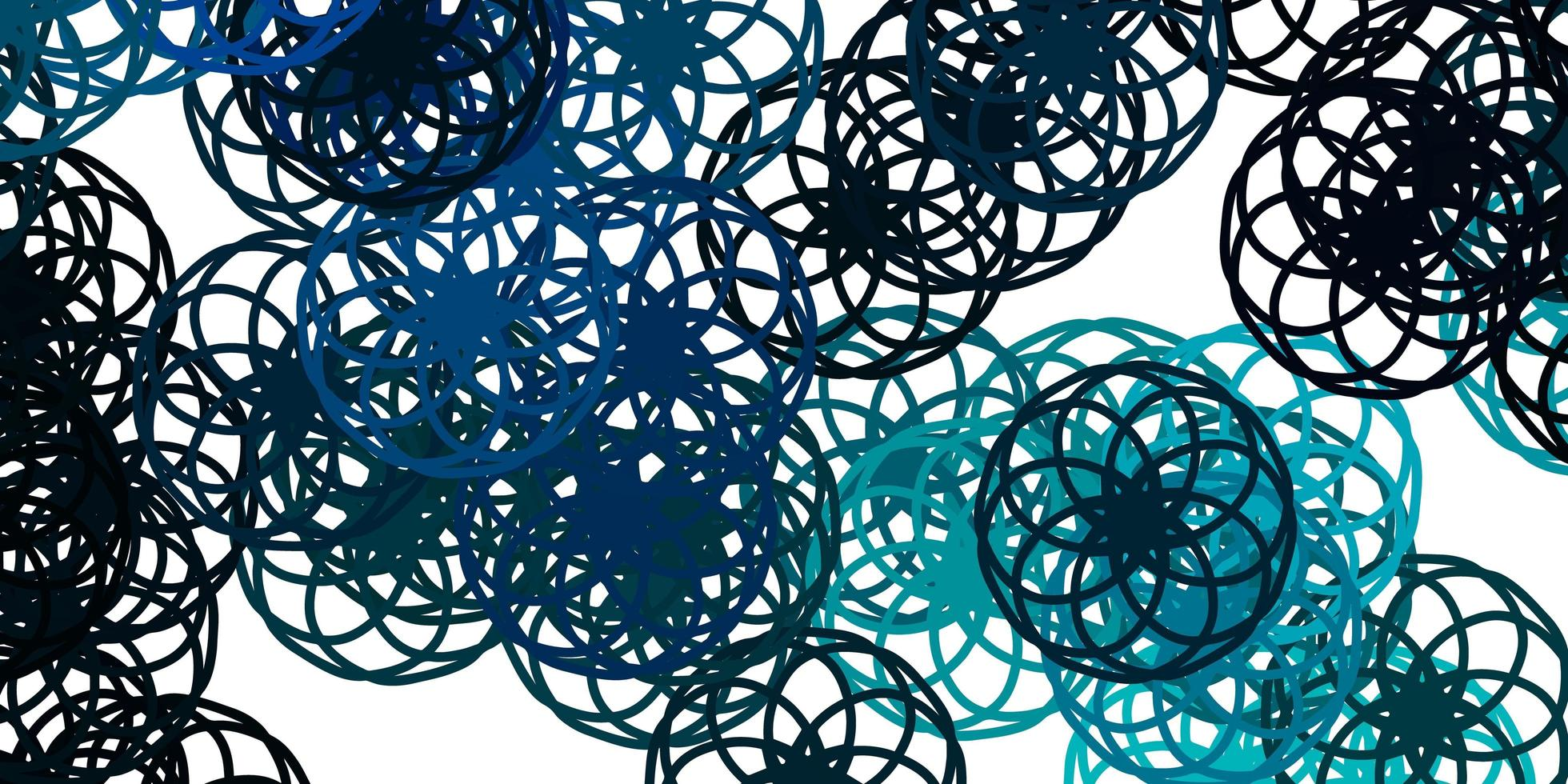 textura de vector azul claro, verde con discos